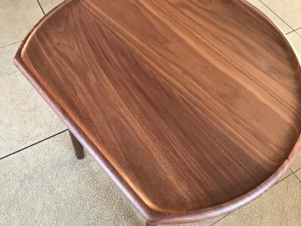 ウォールナット材サイドテーブル天板