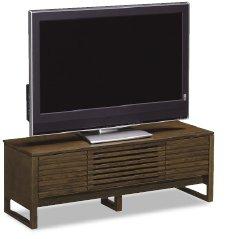 43型テレビを幅120のTV台に乗せた場合