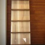 木製パンフレットラック
