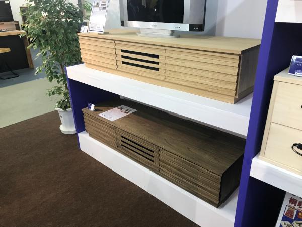 桐無垢材のテレビボード