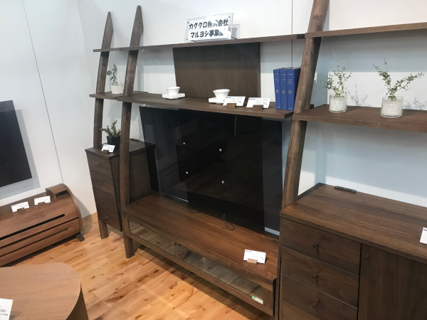 壁掛けテレビ対応テレビボード