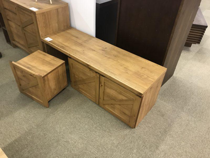 収納ボックス付きベンチ